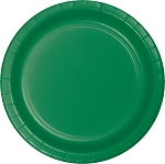 EMERALD GREEN LUNCHEON PLATE