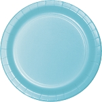 PASTEL BLUE LUNCHEON PLATE