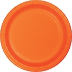 SUNKISSED ORANGE LUNCHEON PLATE