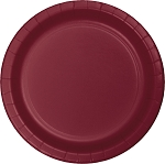 BURGUNDY LUNCH  PLATE