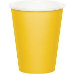 SCHOOL BUS YELLOW CUP
