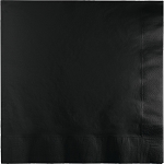 BLACK VELVET LUCHEON NAPKIN