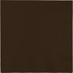 CHOCOLATE BROWN LUNCHEON NAPKIN
