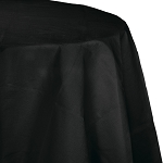 BLACK VELVET TABLE COVER