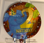 2nd Birthday Mylar