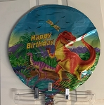 Dino Birthday Mylar